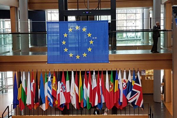 Delegationsreise ins EU Parlament